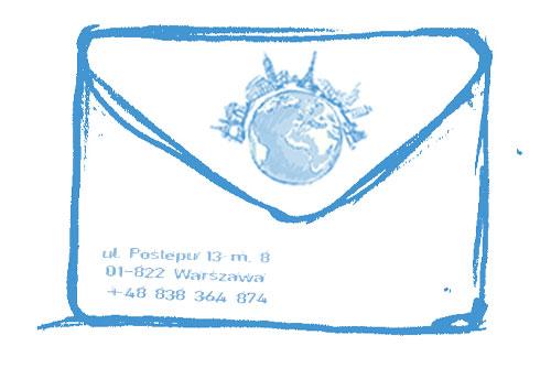 koperty z nadrukiem
