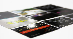 Visitenkarten 2-Folie